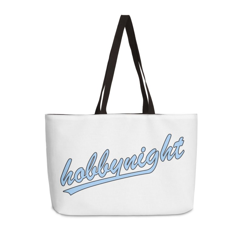 Hobby Night - Play Ball Accessories Weekender Bag Bag by Hobby Night in Canada Podcast