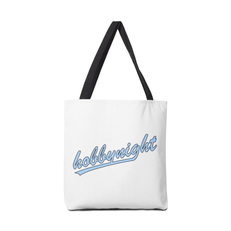 Hobby Night - Play Ball Accessories Tote Bag Bag by Hobby Night in Canada Podcast