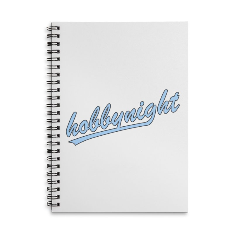 Hobby Night - Play Ball Accessories Notebook by Hobby Night in Canada Podcast