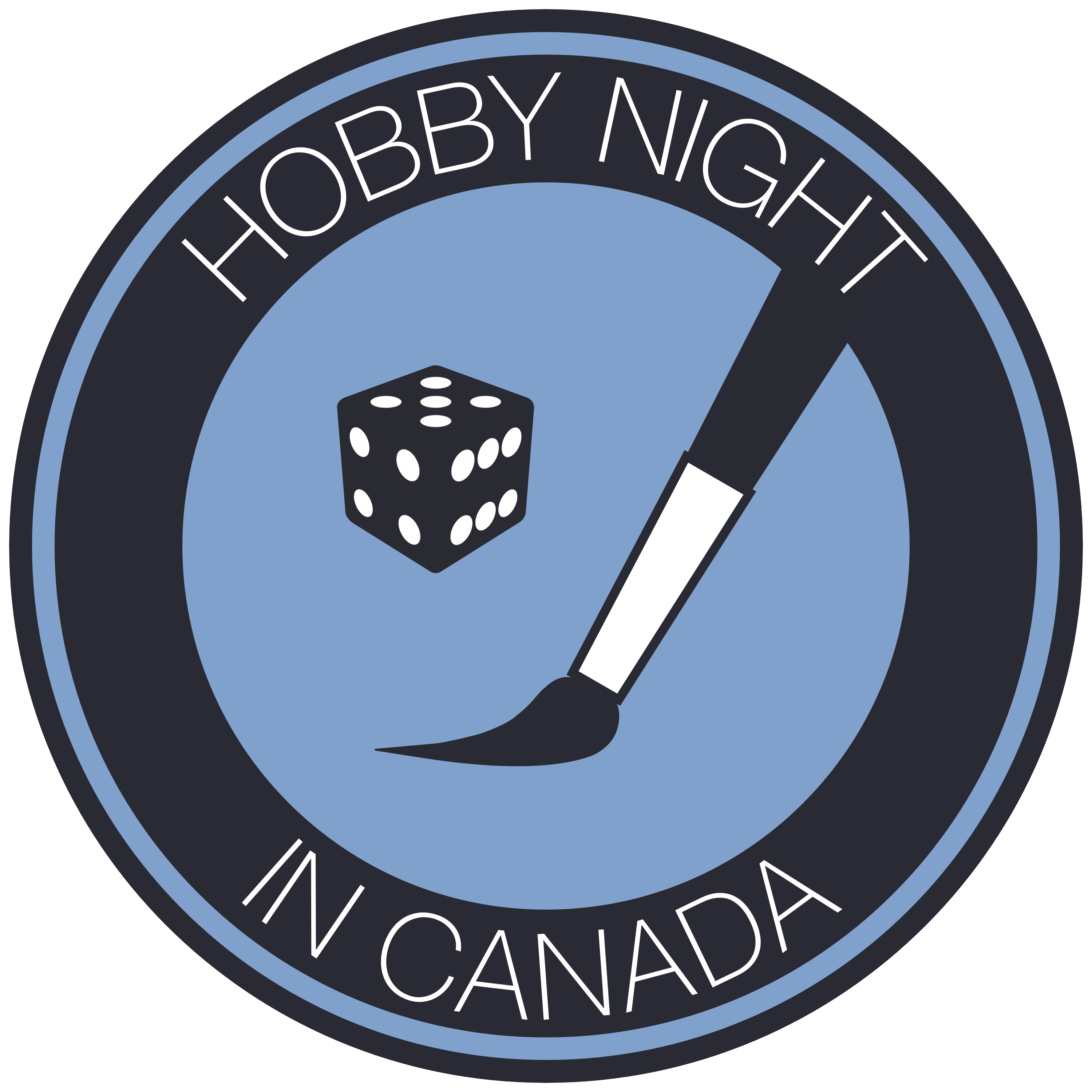 Hobby Night in Canada Podcast Logo