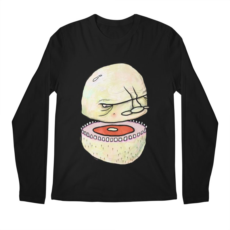 Bifurcated Head Men's Regular Longsleeve T-Shirt by Hodge