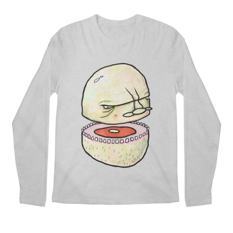 Bifurcated Head Men's Longsleeve T-Shirt by Hodge