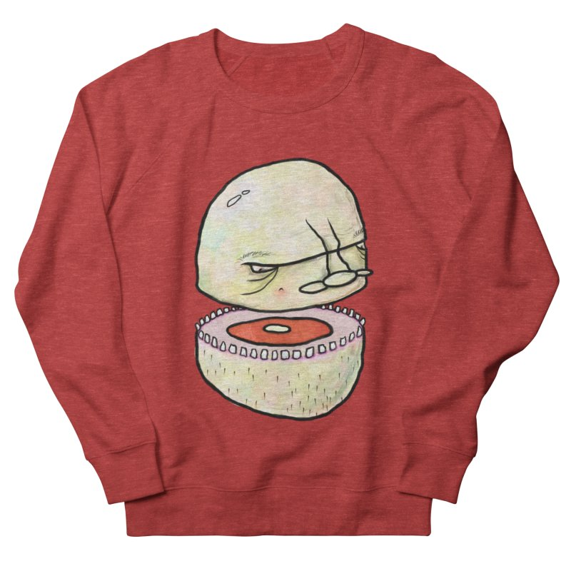Bifurcated Head Men's French Terry Sweatshirt by Hodge