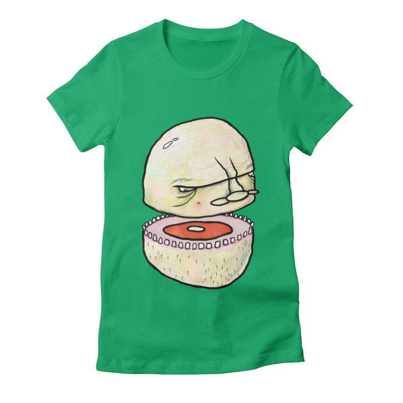Bifurcated Head Women's T-Shirt by Hodge