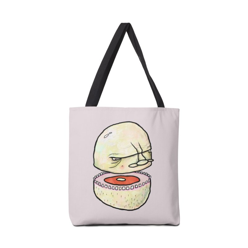 Bifurcated Head Accessories Tote Bag Bag by Hodge