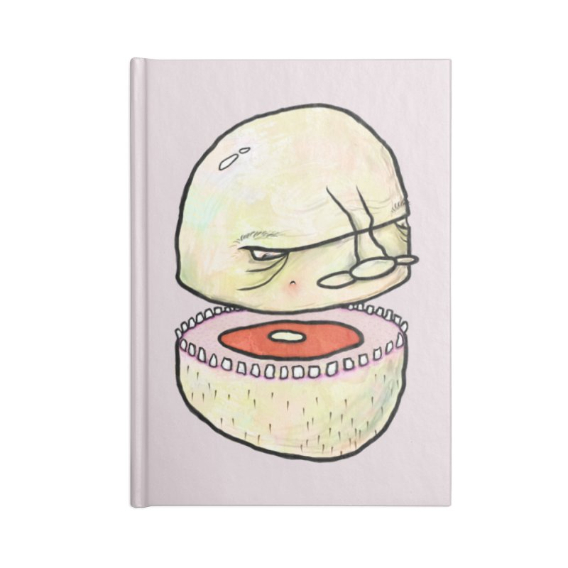 Bifurcated Head Accessories Notebook by Hodge