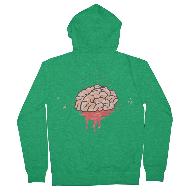 It's Somebody's Brain Men's Zip-Up Hoody by Hodge