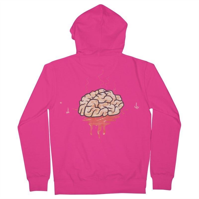 It's Somebody's Brain Men's Zip-Up Hoody by Hodge