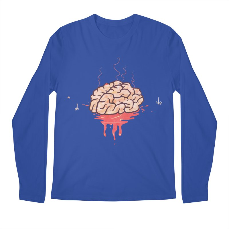It's Somebody's Brain Men's Regular Longsleeve T-Shirt by Hodge