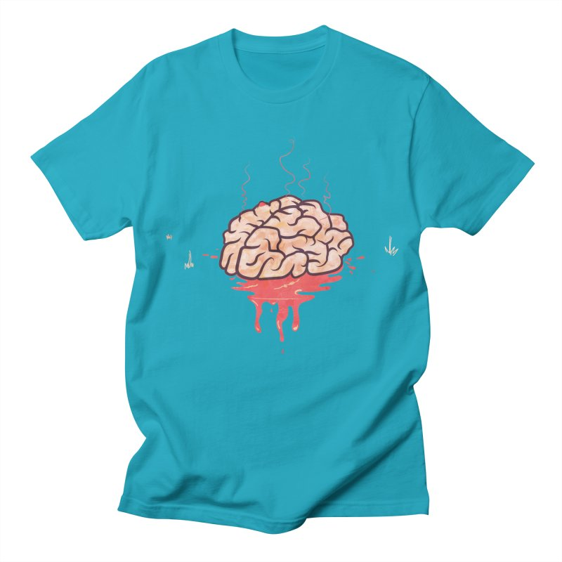It's Somebody's Brain Men's Regular T-Shirt by Hodge