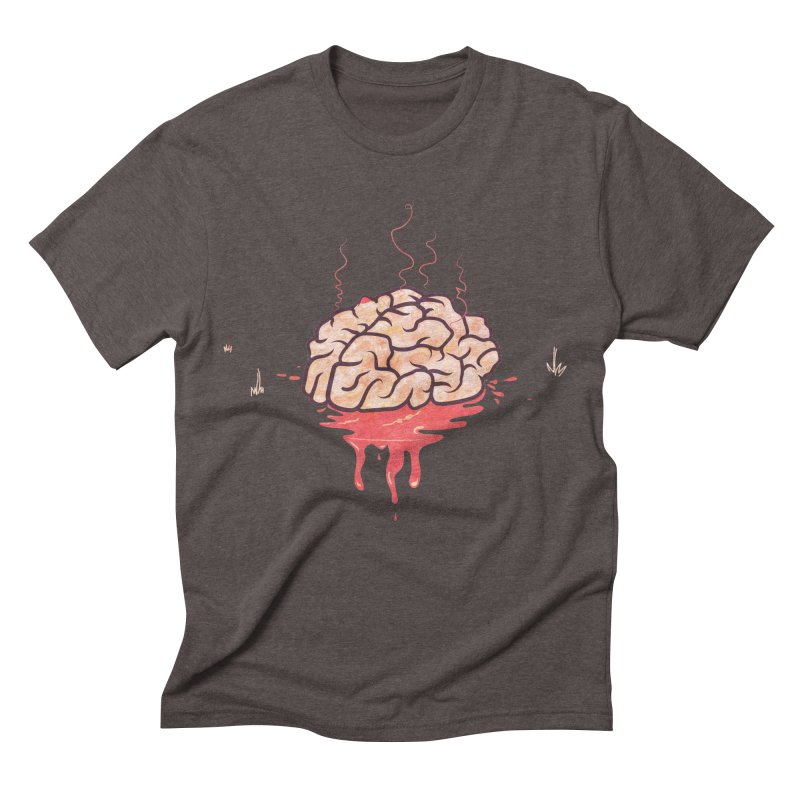 It's Somebody's Brain Men's Triblend T-Shirt by Hodge