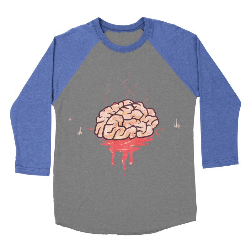 It's Somebody's Brain Women's Baseball Triblend Longsleeve T-Shirt by Hodge