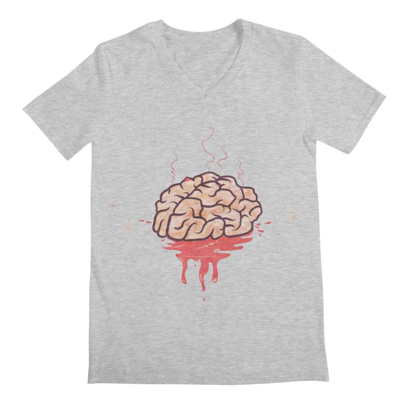 It's Somebody's Brain Men's Regular V-Neck by Hodge