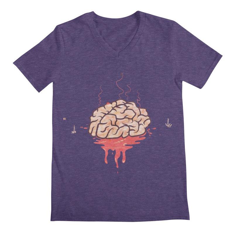 It's Somebody's Brain Men's Regular V-Neck by Hodge