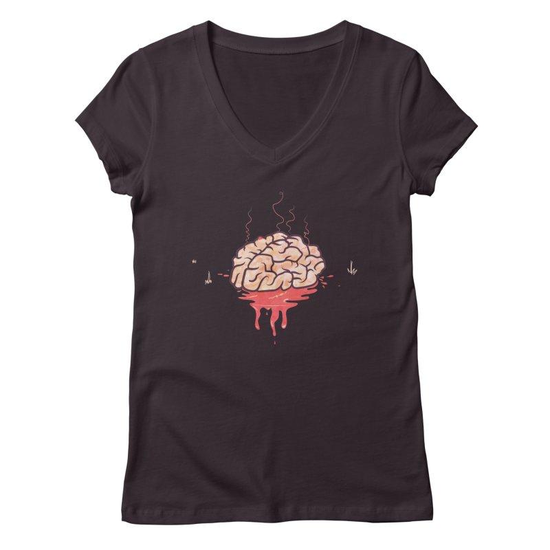 It's Somebody's Brain Women's V-Neck by Hodge