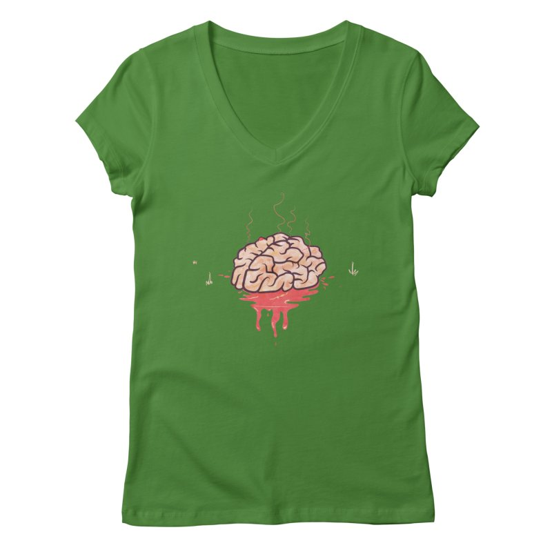 It's Somebody's Brain Women's Regular V-Neck by Hodge