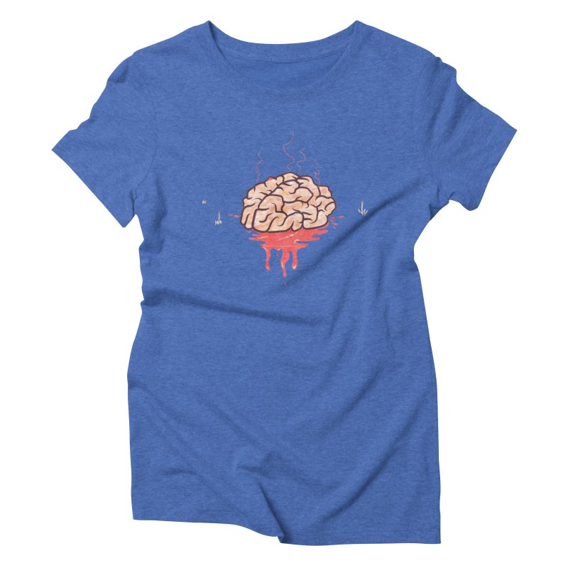 It's Somebody's Brain Women's Triblend T-Shirt by Hodge
