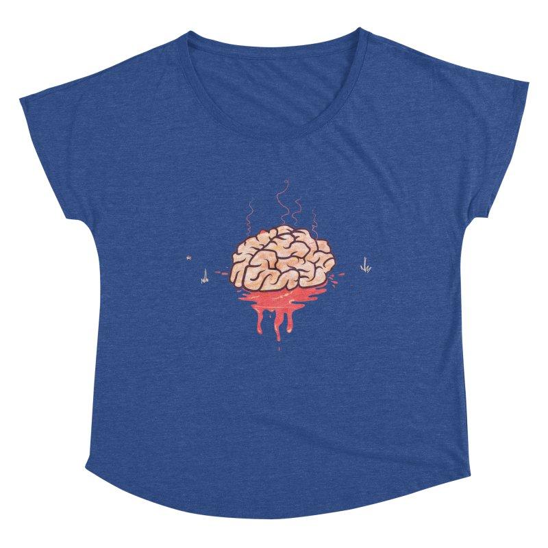 It's Somebody's Brain Women's Scoop Neck by Hodge