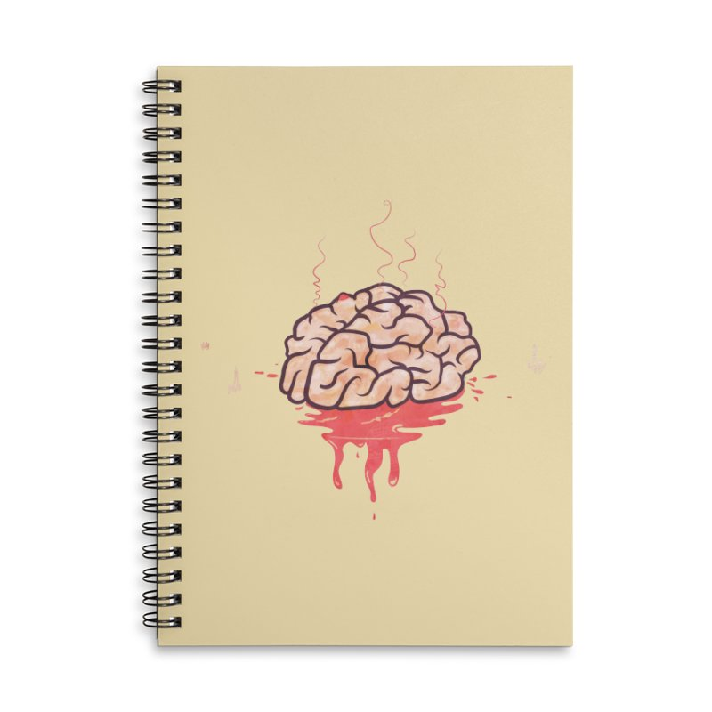 It's Somebody's Brain Accessories Lined Spiral Notebook by Hodge