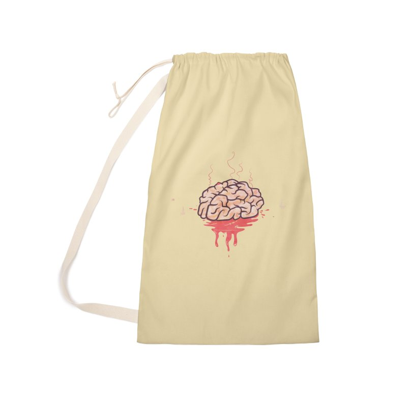 It's Somebody's Brain Accessories Laundry Bag Bag by Hodge