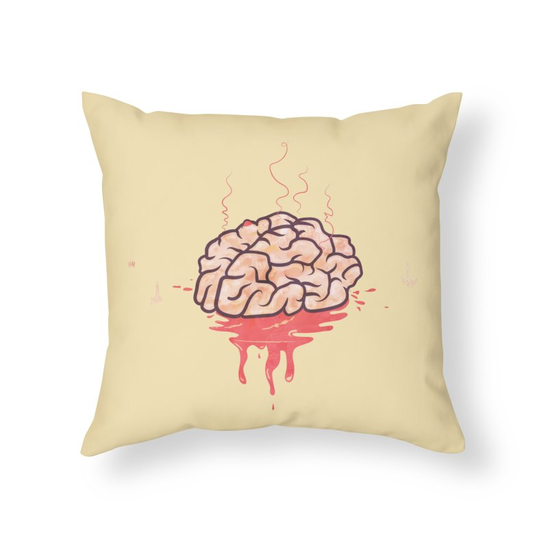 It's Somebody's Brain Home Throw Pillow by Hodge