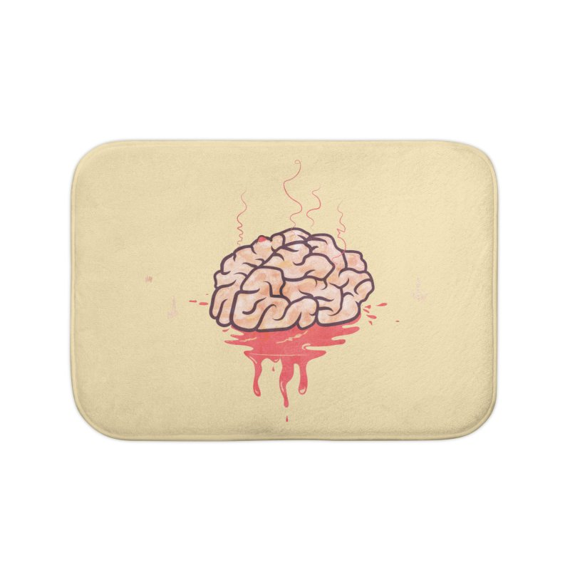 It's Somebody's Brain Home Bath Mat by Hodge