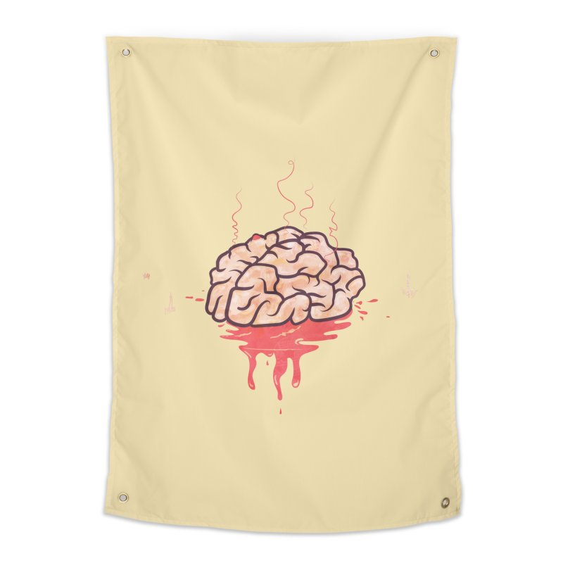 It's Somebody's Brain Home Tapestry by Hodge