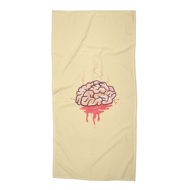 It's Somebody's Brain Accessories Beach Towel by Hodge
