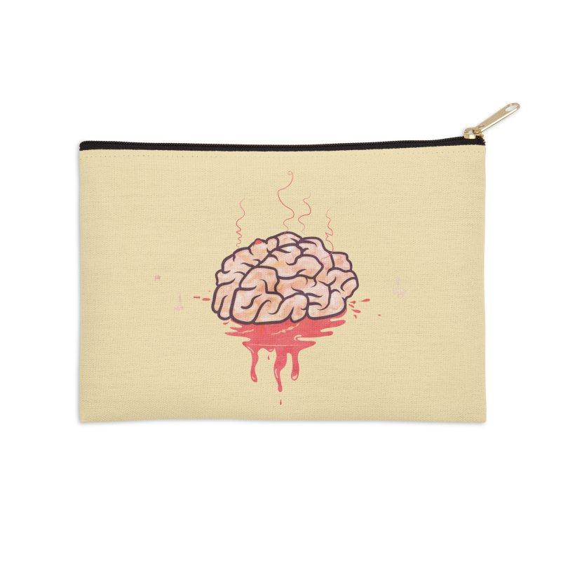 It's Somebody's Brain Accessories Zip Pouch by Hodge