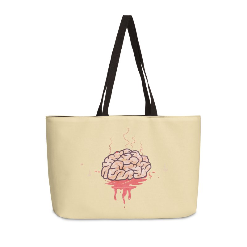 It's Somebody's Brain in Weekender Bag by Hodge
