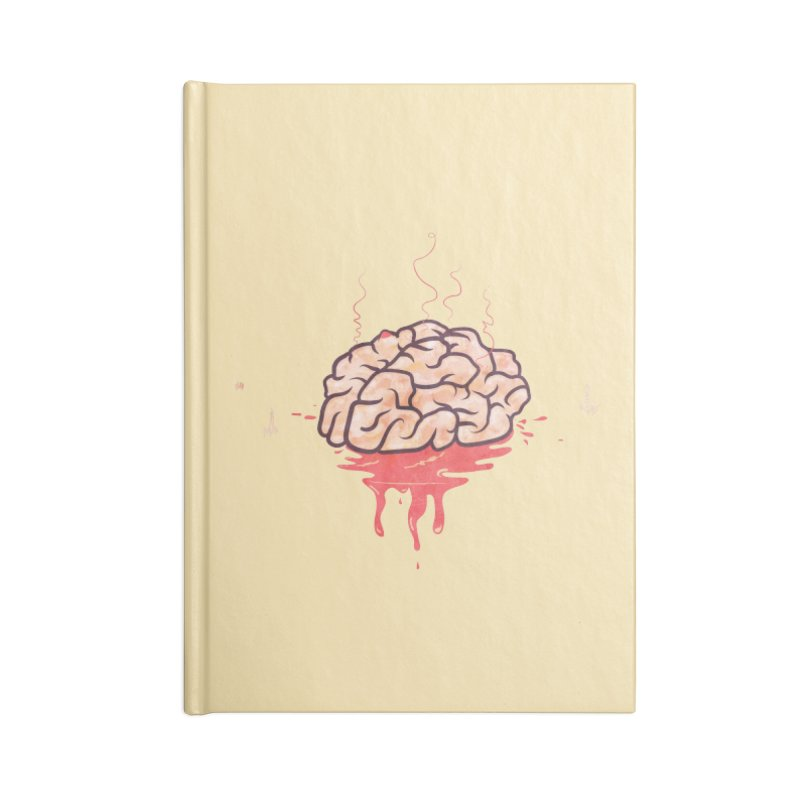 It's Somebody's Brain Accessories Lined Journal Notebook by Hodge