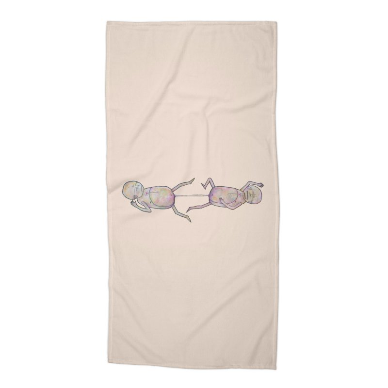 Twins by the Dick Accessories Beach Towel by Hodge