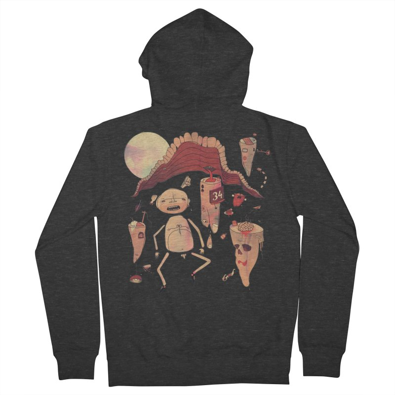 It's Somebody's Birthday Today Men's Zip-Up Hoody by Hodge