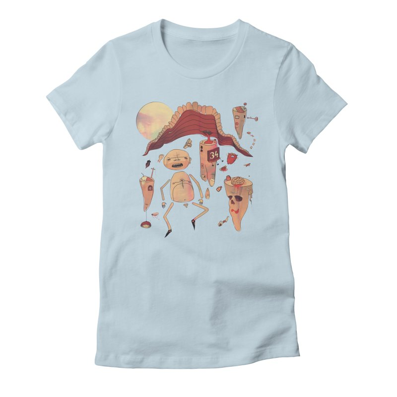 It's Somebody's Birthday Today Women's Fitted T-Shirt by Hodge