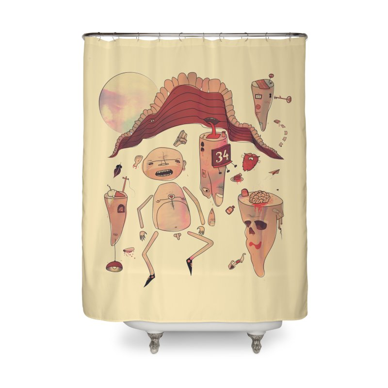 It's Somebody's Birthday Today Home Shower Curtain by Hodge