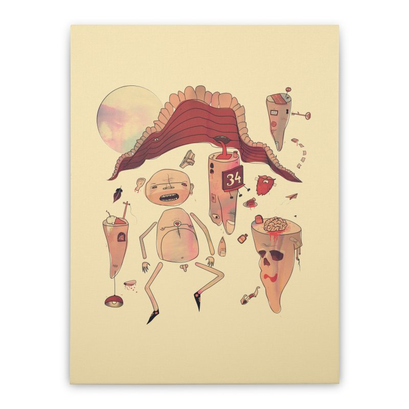 It's Somebody's Birthday Today Home Stretched Canvas by Hodge