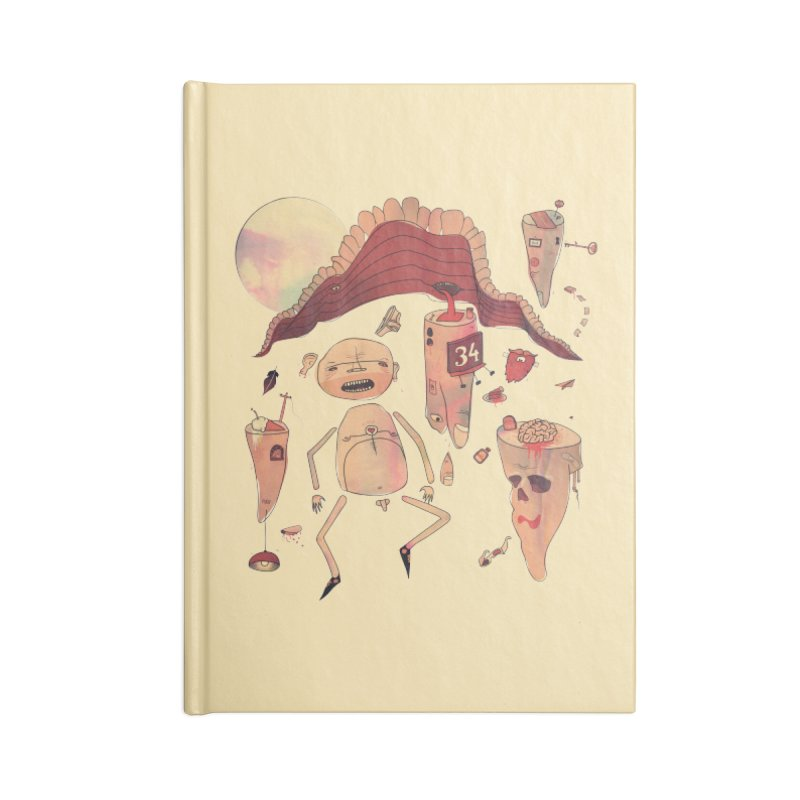 It's Somebody's Birthday Today Accessories Lined Journal Notebook by Hodge
