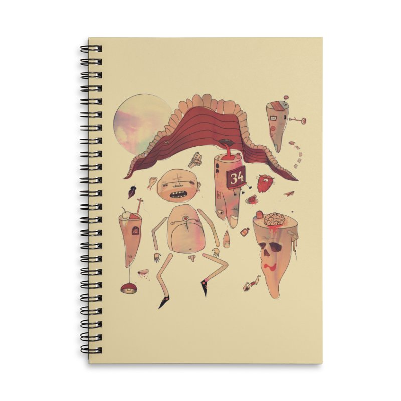It's Somebody's Birthday Today Accessories Lined Spiral Notebook by Hodge