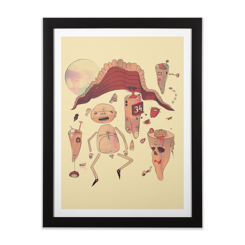It's Somebody's Birthday Today Home Framed Fine Art Print by Hodge