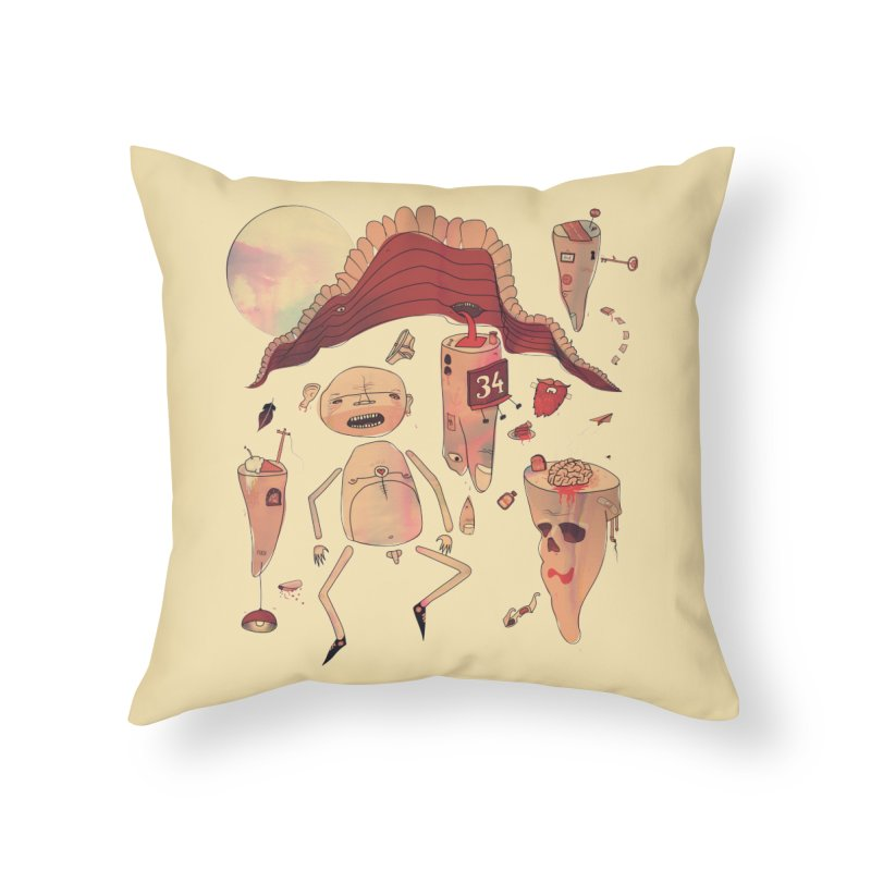 It's Somebody's Birthday Today Home Throw Pillow by Hodge