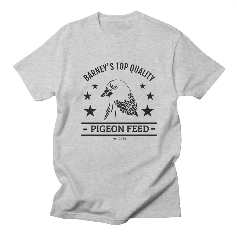 Barney's Top Quality Pigeon Feed Men's Regular T-Shirt by hogfish's Artist Shop