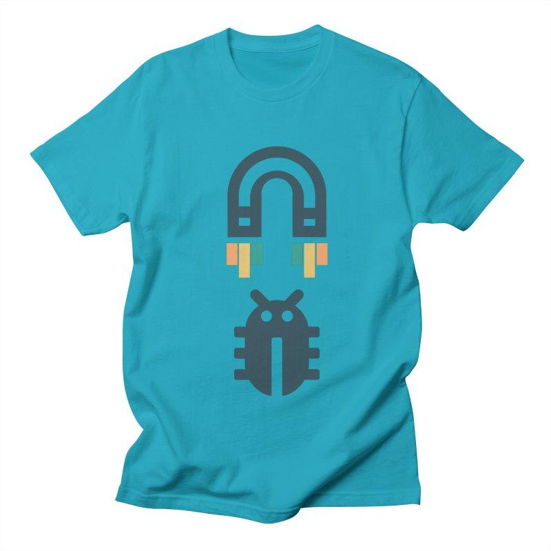 Bug magnet Men's Regular T-Shirt by hogfish's Artist Shop
