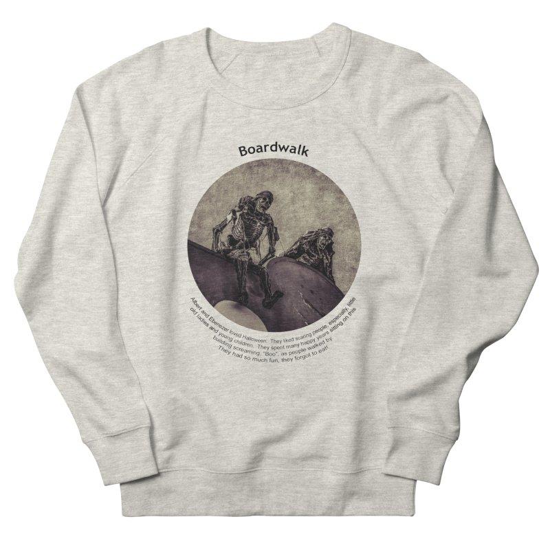 Boardwalk Men's Sweatshirt by Hogwash's Artist Shop