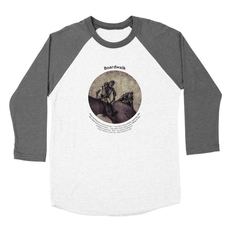 Boardwalk Women's Longsleeve T-Shirt by Hogwash's Artist Shop