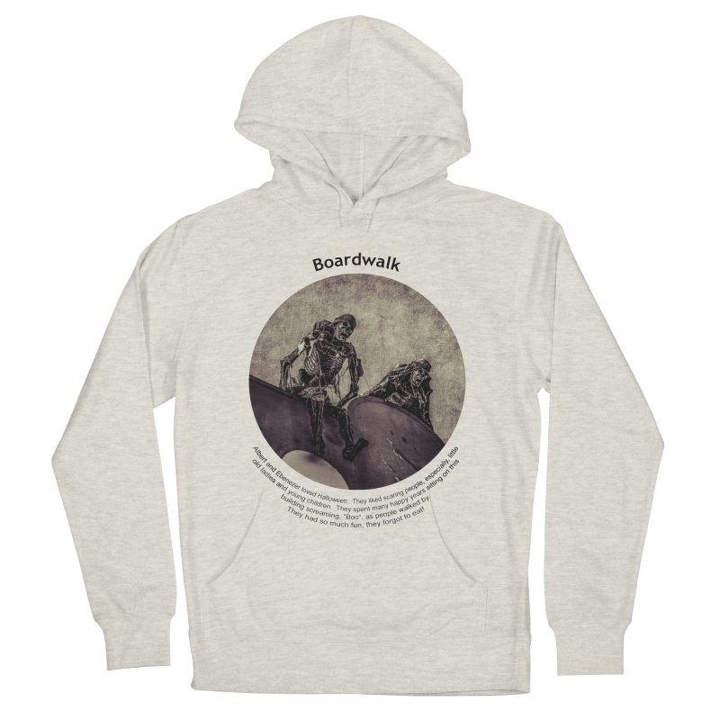 Boardwalk Men's Pullover Hoody by Hogwash's Artist Shop