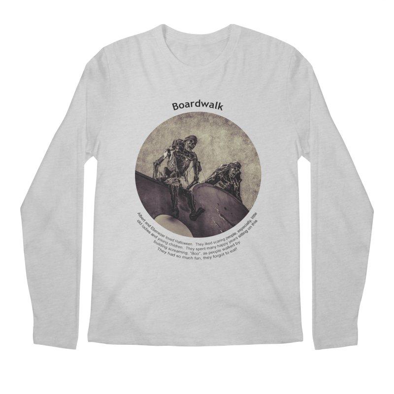 Boardwalk Men's Regular Longsleeve T-Shirt by Hogwash's Artist Shop