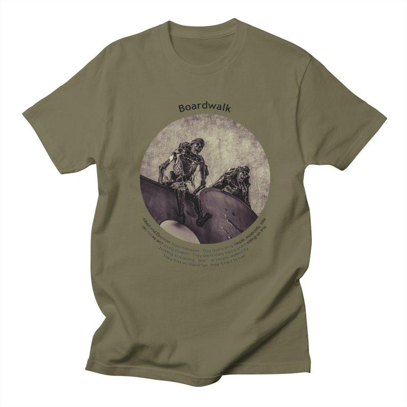 Boardwalk Men's T-shirt by Hogwash's Artist Shop