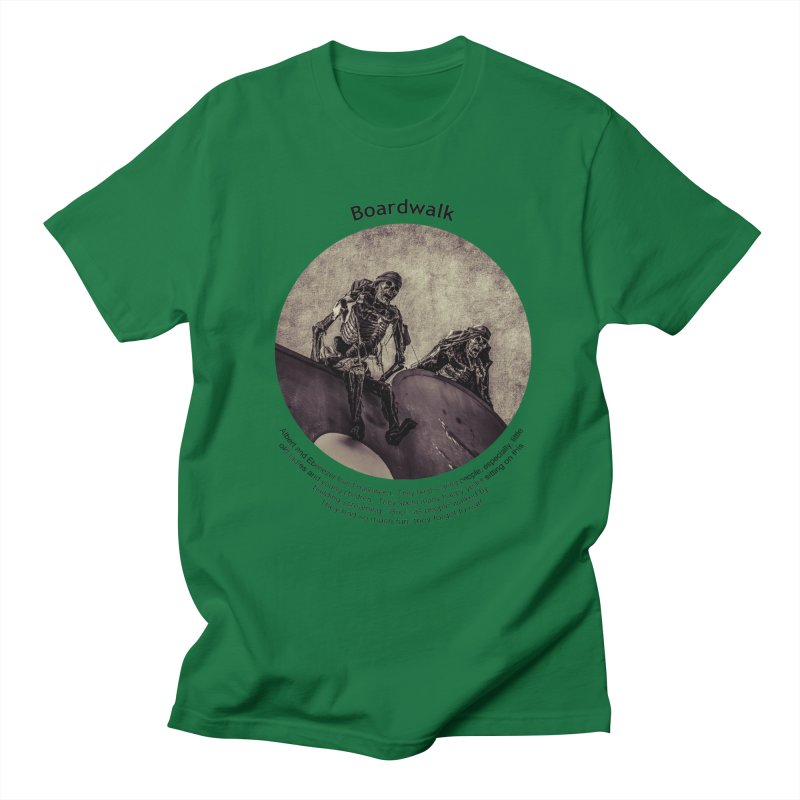Boardwalk Men's T-Shirt by Hogwash's Artist Shop