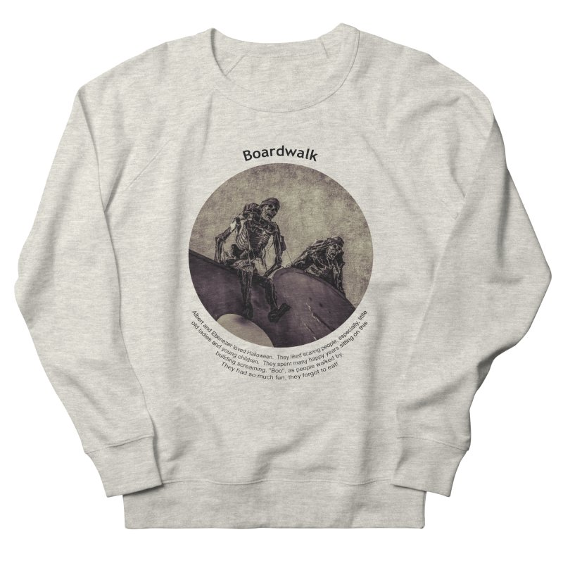 Boardwalk Men's Sweatshirt by Hogwash's Artist Shop