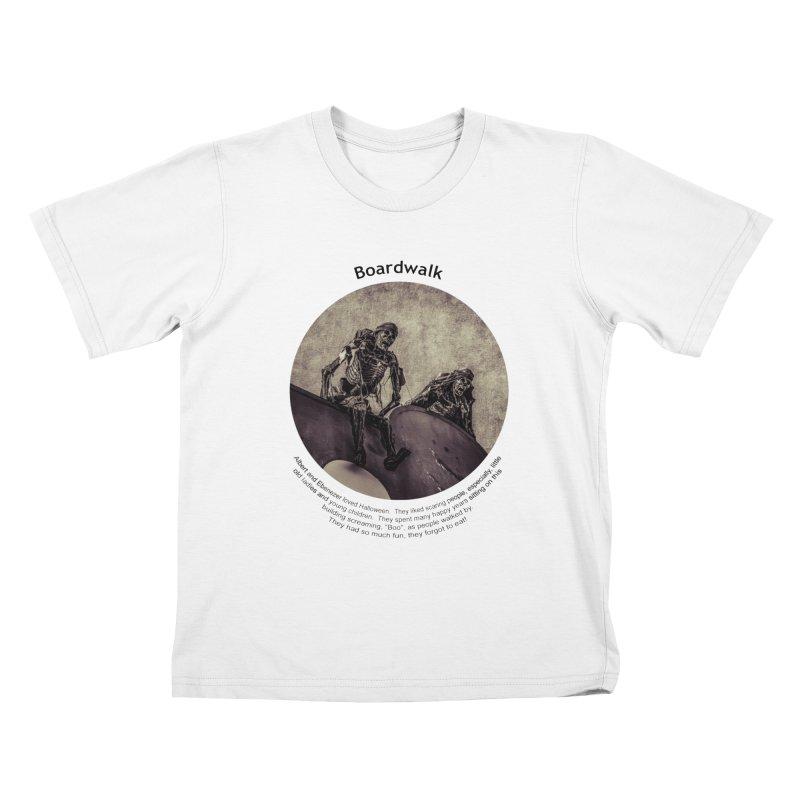Boardwalk Kids T-Shirt by Hogwash's Artist Shop